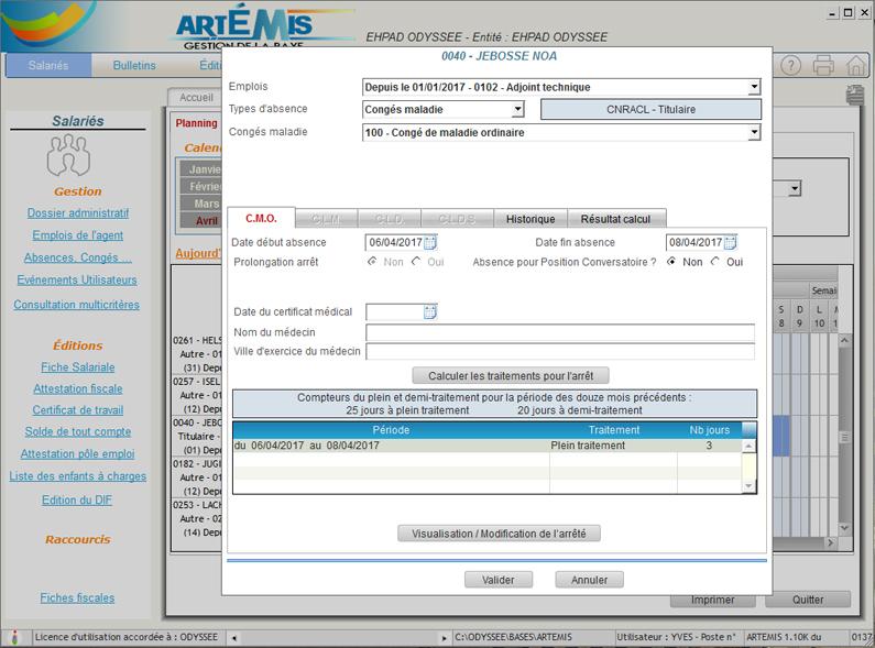 Artemis Odyssee Informatique